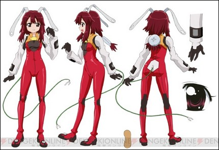 Fight Ippatsu  Juuden-chan design